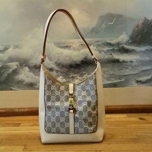 Auth Gucci small hobo bag monogram